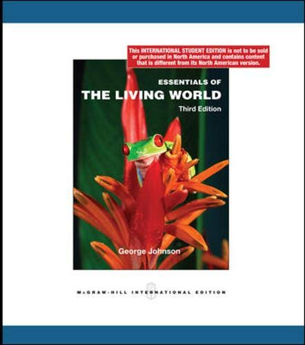 9780070167766: Essentials of the Living World