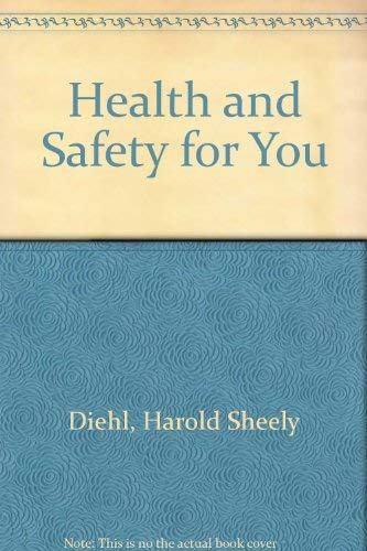 9780070168633: Health and Safety for You