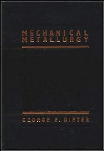 9780070168930: Mechanical Metallurgy