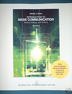 9780070169135: Introduction to Mass Communication: Media Literacy and Culture