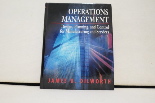 9780070169883: Operations Management: Design, Planning, and Control for Manufacturing and Services (Schaum's outline series in accounting, business, & economics)