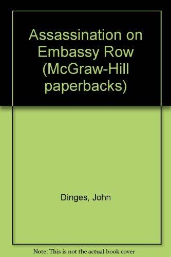 9780070169982: Assassination on Embassy Row (McGraw-Hill paperbacks)