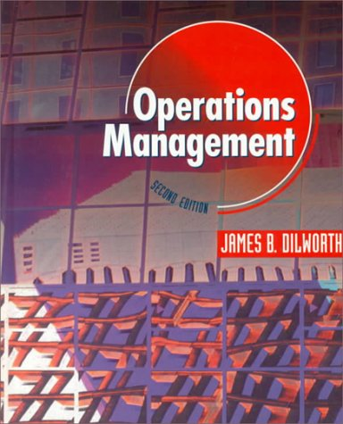 9780070170216: Operations Management (Mcgraw-Hill Series in Management)