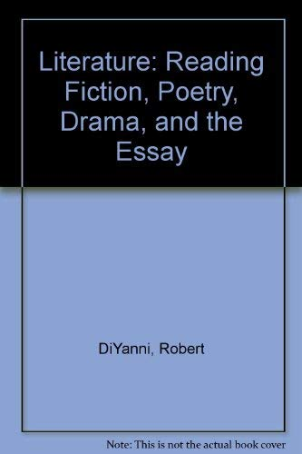 9780070170384: Literature Reading Fiction Poetry Dr