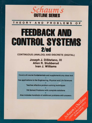 9780070170476: Schaum's Outline of Theory and Problems of Feedback and Control Systems (Schaum's Outline Series)