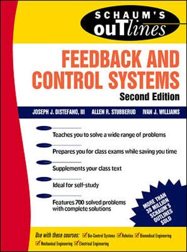 9780070170520: Schaum's Outline of Feedback and Control Systems, Second Edition