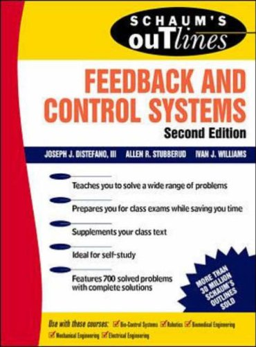 9780070170520: Schaum's Outline of Feedback and Control Systems, Second Edition (Schaum's Outline Series)