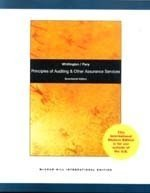 9780070170544: Principles of Auditing and Other Assurance Services