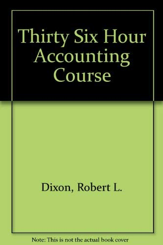 9780070170902: The McGraw-Hill 36-hour accounting course