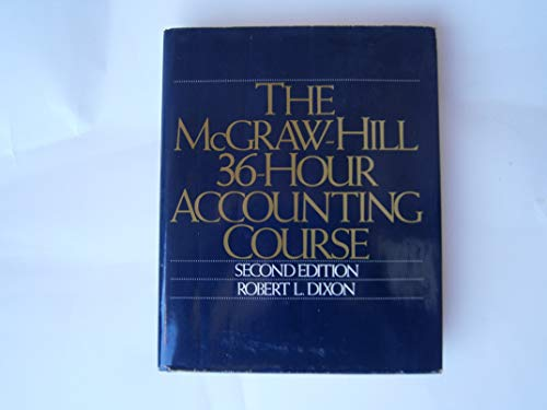 9780070170919: McGraw-Hill 36-hour Accounting Course