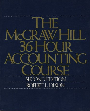 9780070170926: McGraw-Hill 36-hour Accounting Course