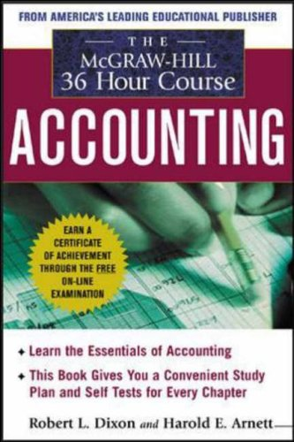 9780070170940: The McGraw-Hill 36-Hour: Accounting Course, 3rd Edition