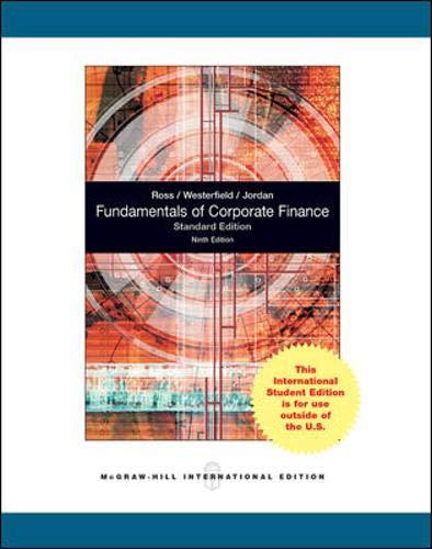 9780070171589: Fundamentals of Corporate Finance Standard Edition