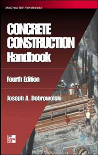 9780070171985: Concrete Construction Handbook (McGraw-Hill Handbooks)