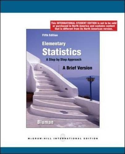 9780070172005: Elementary Statistics: A Brief Version