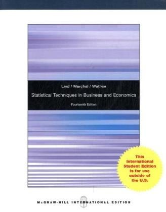 9780070172203: Statistical Techniques in Business and Economics