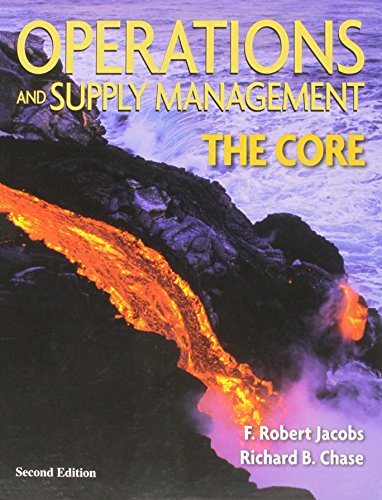 9780070172265: Operations and Supply Management:  The Core