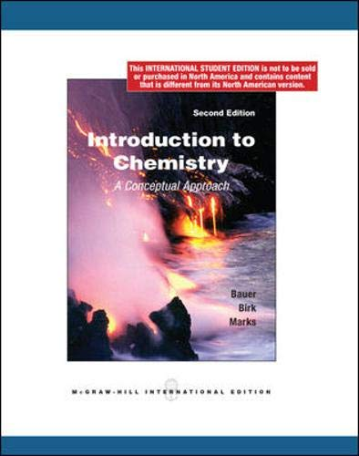 9780070172623: Introduction to Chemistry