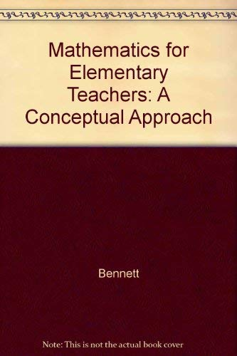 9780070172999: Mathematics for Elementary Teachers: A Conceptual Approach