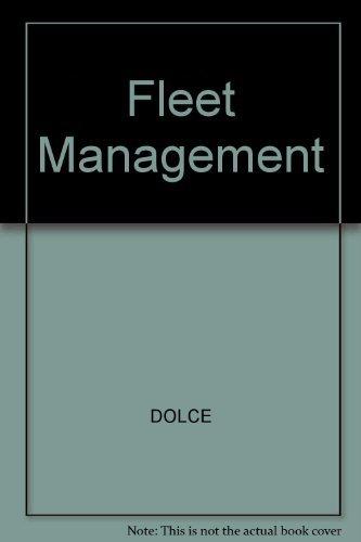 9780070174108: Fleet Management