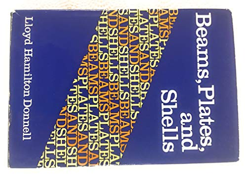 9780070175938: Beams, Plates and Shells (Engineering societies monographs)