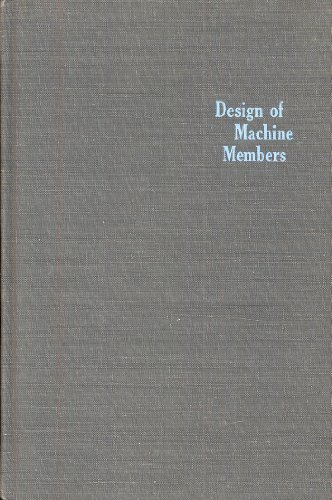 9780070176355: Design of Machine Members