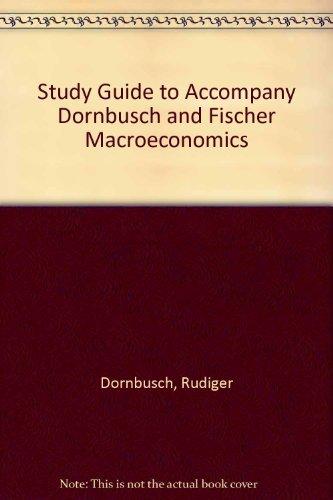 9780070177895: Study Guide to Accompany Dornbusch and Fischer Macroeconomics
