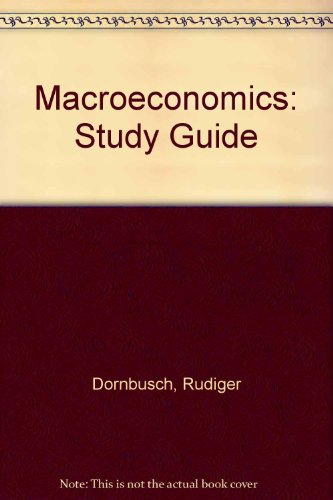9780070178465: Macroeconomics: Study Guide
