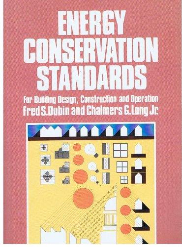 9780070178847: Energy Conservation Standards: For Building Design, Construction & Operation