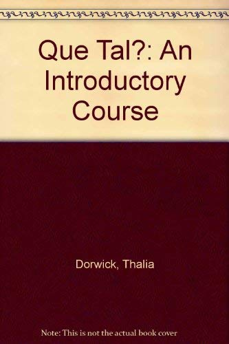 9780070179578: Que Tal?: An Introductory Course (English and Spanish Edition)