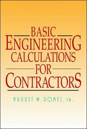 9780070180024: Basic Engineering Calculations for Contractors