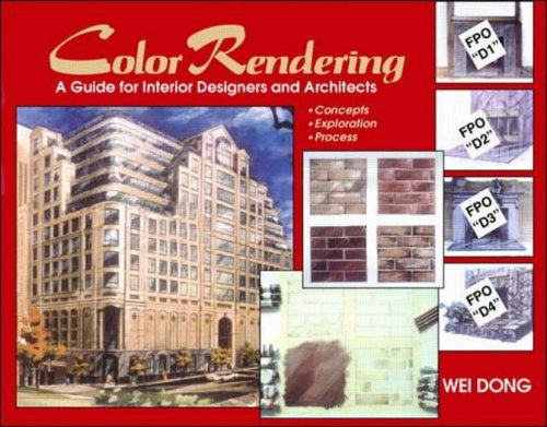 9780070180079: Color Rendering: A Guide for Interior Designers and Architects