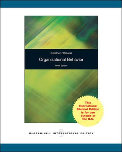 9780070182615: Organizational Behavior