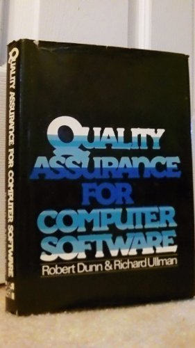 9780070183124: Quality Assurance for Computer Software