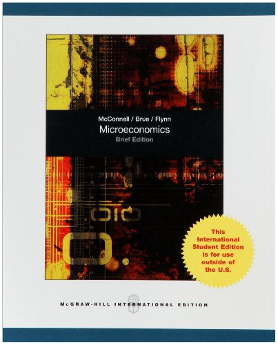 9780070183292: Microeconomics, Brief Edition