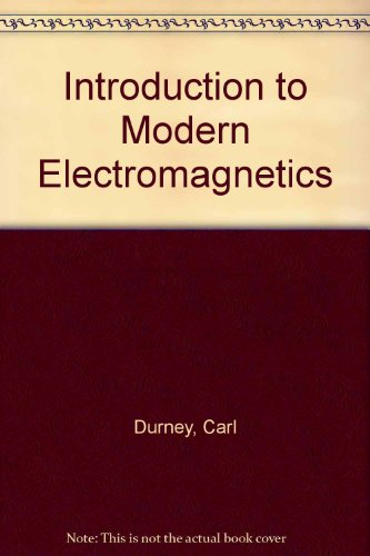 9780070183889: Introduction to Modern Electromagnetics