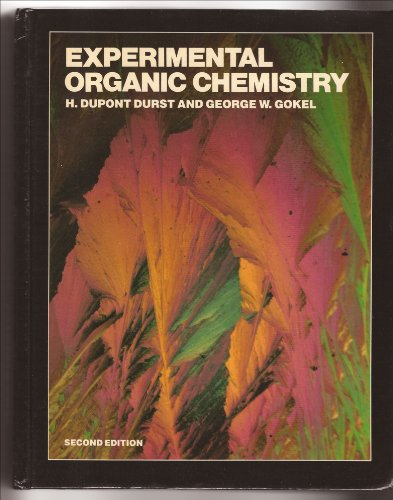 9780070183988: Experimental Organic Chemistry