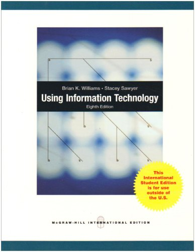 9780070184992: Using Information Technology