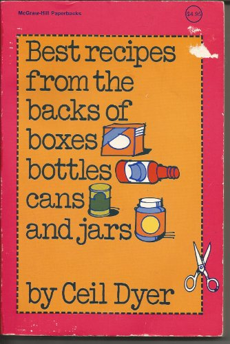 9780070185500: Best Recipes from the Backs of Boxes, Bottles, Cans, and Jars