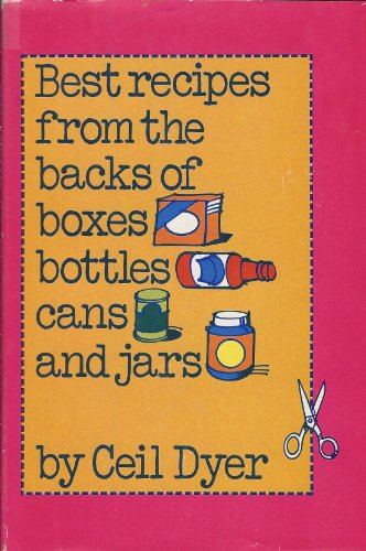 9780070185517: Best Recipes from the Backs of Boxes- Bottles- Cans- and Jars