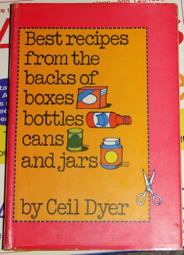 9780070185517: Best recipes from the backs of boxes, bottles, cans, and jars
