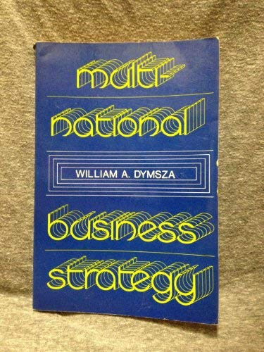 9780070185708: Multinational Business Strategy