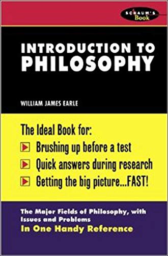9780070187832: Schaum's Outline of Introduction To Philosophy (Schaum's College Review Book)