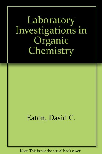 9780070188556: Laboratory Investigations in Organic Chemistry