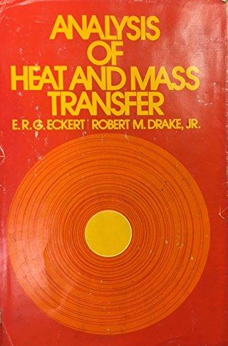 9780070189256: Analysis of Heat and Mass Transfer