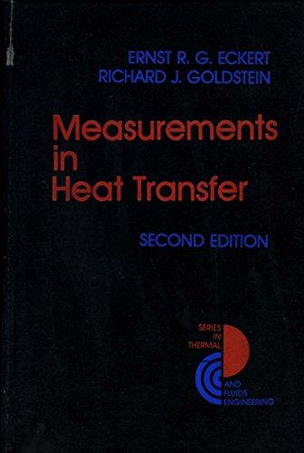 9780070189263: Measurements in Heat Transfer (Series in thermal and fluids engineering)