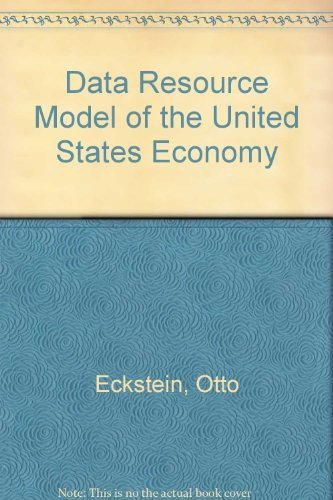 9780070189720: The Dri Model of the U.S. Economy