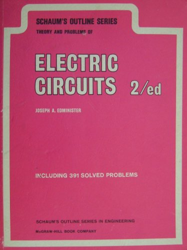 9780070189843: Schaum's Outline of Electric Circuits (Schaum's Outline Series)
