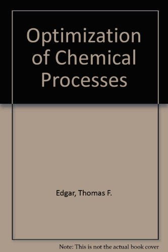 9780070189928: Optimization of Chemical Processes