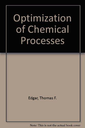 9780070189928: Optimization of Chemical Processes